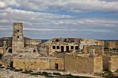 堡垒ricasoli 免版税库存图片