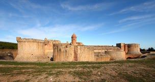 堡垒salses 免版税库存照片