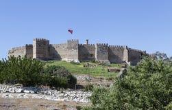 堡垒Selcuk在Selcuk 火鸡 免版税库存照片