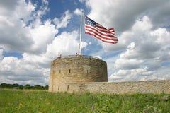 堡垒Snelling,圣保罗,明尼苏达 图库摄影