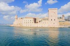 堡垒St吉恩在马赛 库存照片
