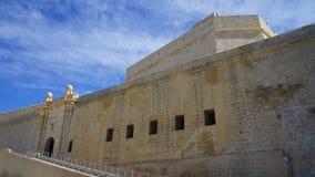 堡垒St安吉洛 三个城市堡垒 马耳他 库存照片