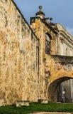 堡垒St Cristobal地面 免版税库存照片