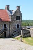 堡垒Ticonderoga生存历史 免版税库存照片