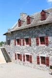 堡垒Ticonderoga防护Windows 免版税库存图片