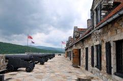 堡垒ticonderoga 图库摄影