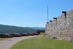 堡垒Ticonderoga 免版税库存图片