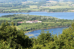 堡垒Ticonderoga 免版税库存照片