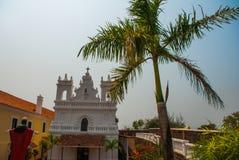 堡垒Tiracol goa 印度 免版税库存图片