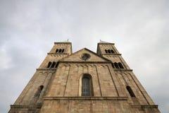 维堡大教堂在丹麦 库存照片