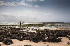 堡礁 库存照片
