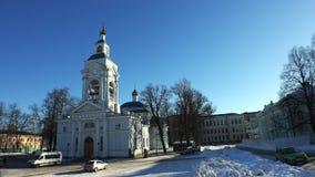 维堡 1824年被创办的大教堂工厂意味nevyansk责任人pyatiprestolny石变貌yakovlev 4K 股票录像