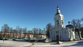 维堡 1824年被创办的大教堂工厂意味nevyansk责任人pyatiprestolny石变貌yakovlev 4K 股票视频