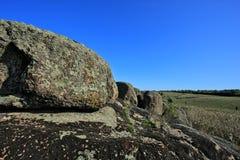堤堰granit 库存照片