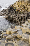 堤道巨型爱尔兰北s 库存图片