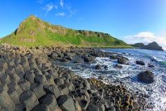 堤道巨型爱尔兰北s 免版税库存照片