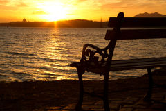 堤道,巴拿马运河 库存照片
