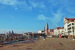 堤防威尼斯 库存图片