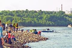 堤防 图库摄影