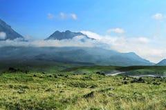 堪察加火山 免版税图库摄影