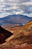 堪察加,俄罗斯火山  免版税库存图片