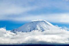 堪察加,俄罗斯火山  库存图片