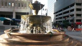 堪萨斯城喷泉 免版税库存图片