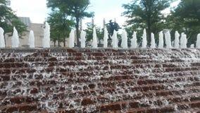 堪萨斯城喷泉 库存图片