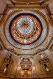 堪萨斯状态国会大厦内在圆顶 免版税库存照片