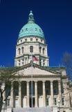 堪萨斯状态国会大厦  库存照片