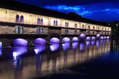 堰坝Vauban在史特拉斯堡 免版税库存照片