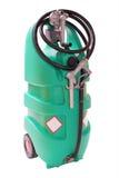 塑料加油泵 免版税库存图片