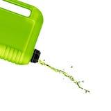 塑料加仑 免版税库存照片