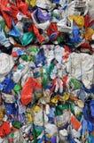 塑料回收 免版税图库摄影
