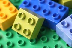 塑料块 免版税库存照片