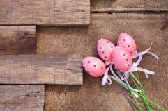 塑料复活节彩蛋 免版税库存照片