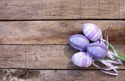塑料复活节彩蛋 库存照片