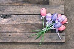 塑料复活节彩蛋 库存图片