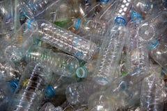 塑料宠物回收 免版税图库摄影