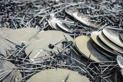塑料小珠 免版税库存图片