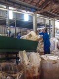 塑料工业 库存照片