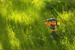 塑料庭院splinkter 免版税库存照片