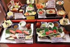 塑料日本食物 库存图片
