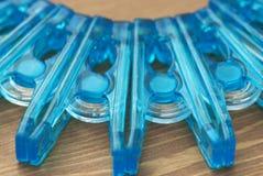 塑料服装扣子细节  库存图片