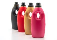 塑料洗涤剂瓶 库存照片