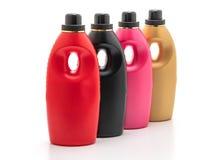 塑料洗涤剂瓶 免版税库存照片