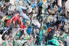 塑料浪费 免版税库存图片