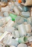 塑料浪费 免版税库存照片
