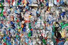 塑料浪费 图库摄影