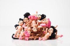 塑料玩偶 免版税库存照片